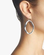 Ippolita Classico Wavy Open Oval Earrings 1