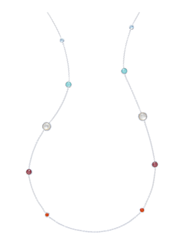 Rock Candy Graduated Lollipop Station Necklace