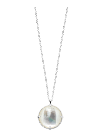 Rock Candy Mother of Pearl Pendant Necklace