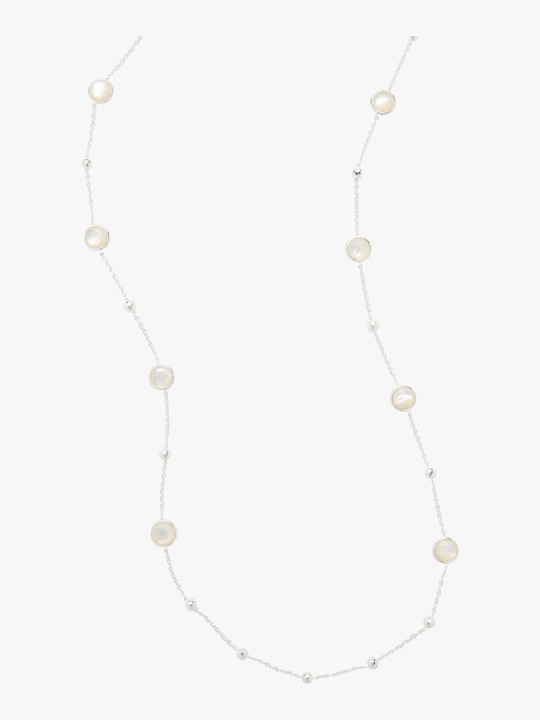Ippolita 925 Rock Candy Ball and Stone Station Necklace 0
