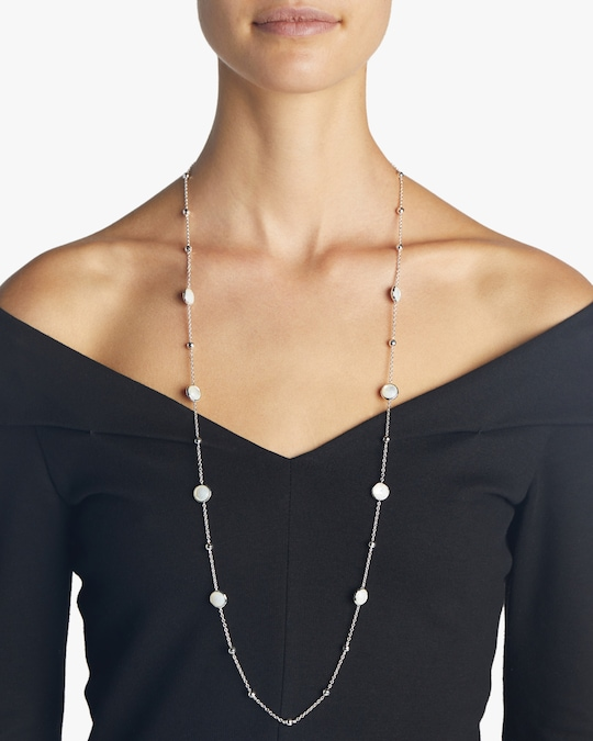 Ippolita 925 Rock Candy Ball and Stone Station Necklace 1