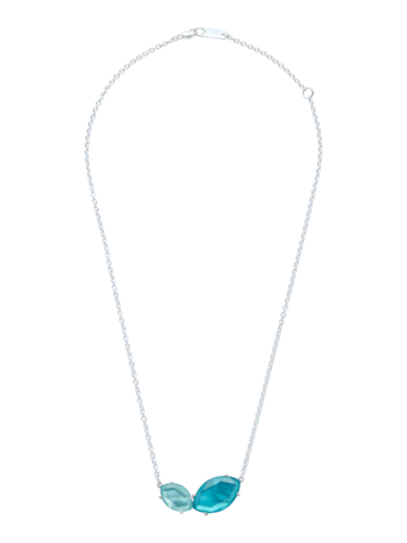 Wonderland Stream and Tide Pendant Necklace