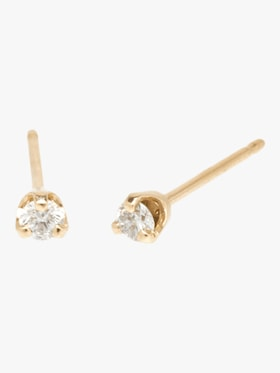 Paris Diamond Prong Studs