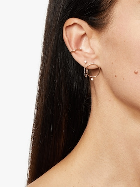 Paris Diamond Ear Cuff