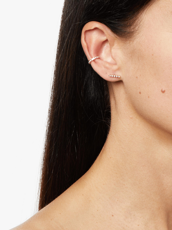 Zoë Chicco Bezel Diamond Ear Cuff 1