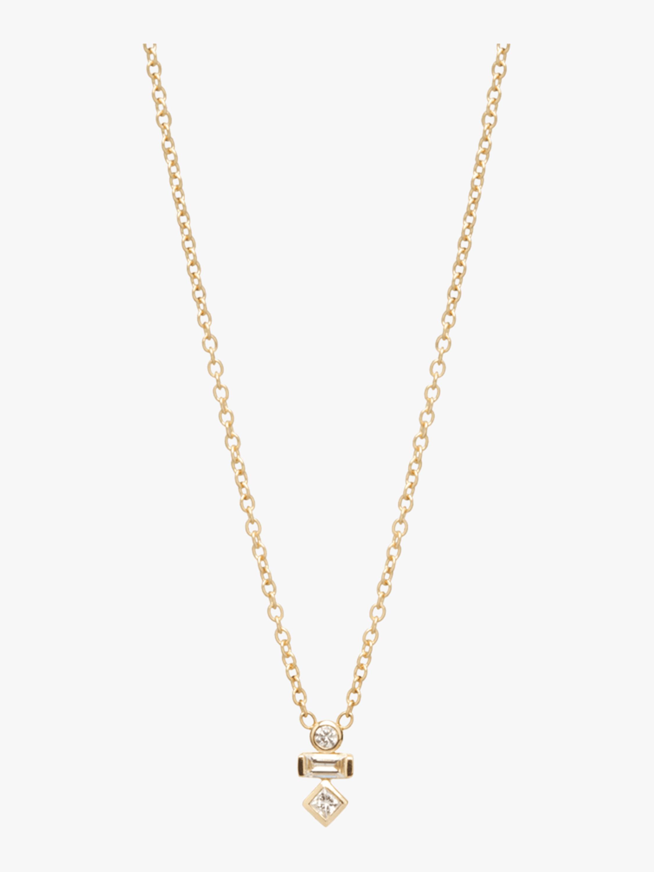 Paris Mixed Diamond Necklace
