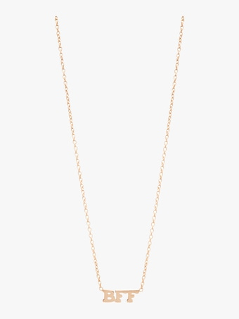 Itty Bitty Words BFF Necklace