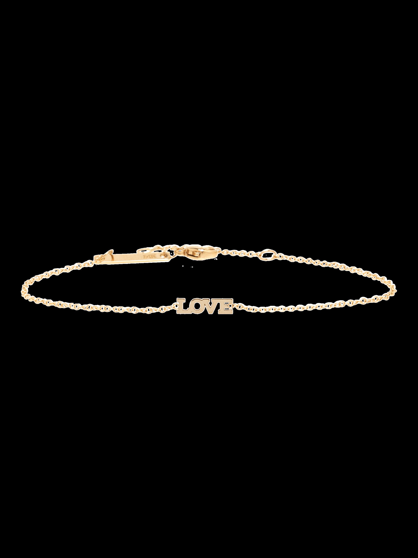 Itty Bitty Words LOVE Bracelet