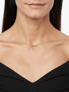 Itty Bitty Words MAMA Necklace