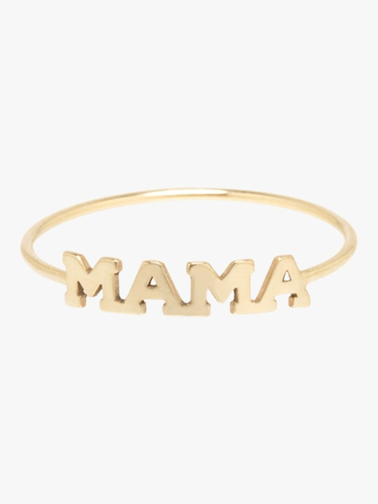 Zoë Chicco Itty Bitty MAMA Ring 0