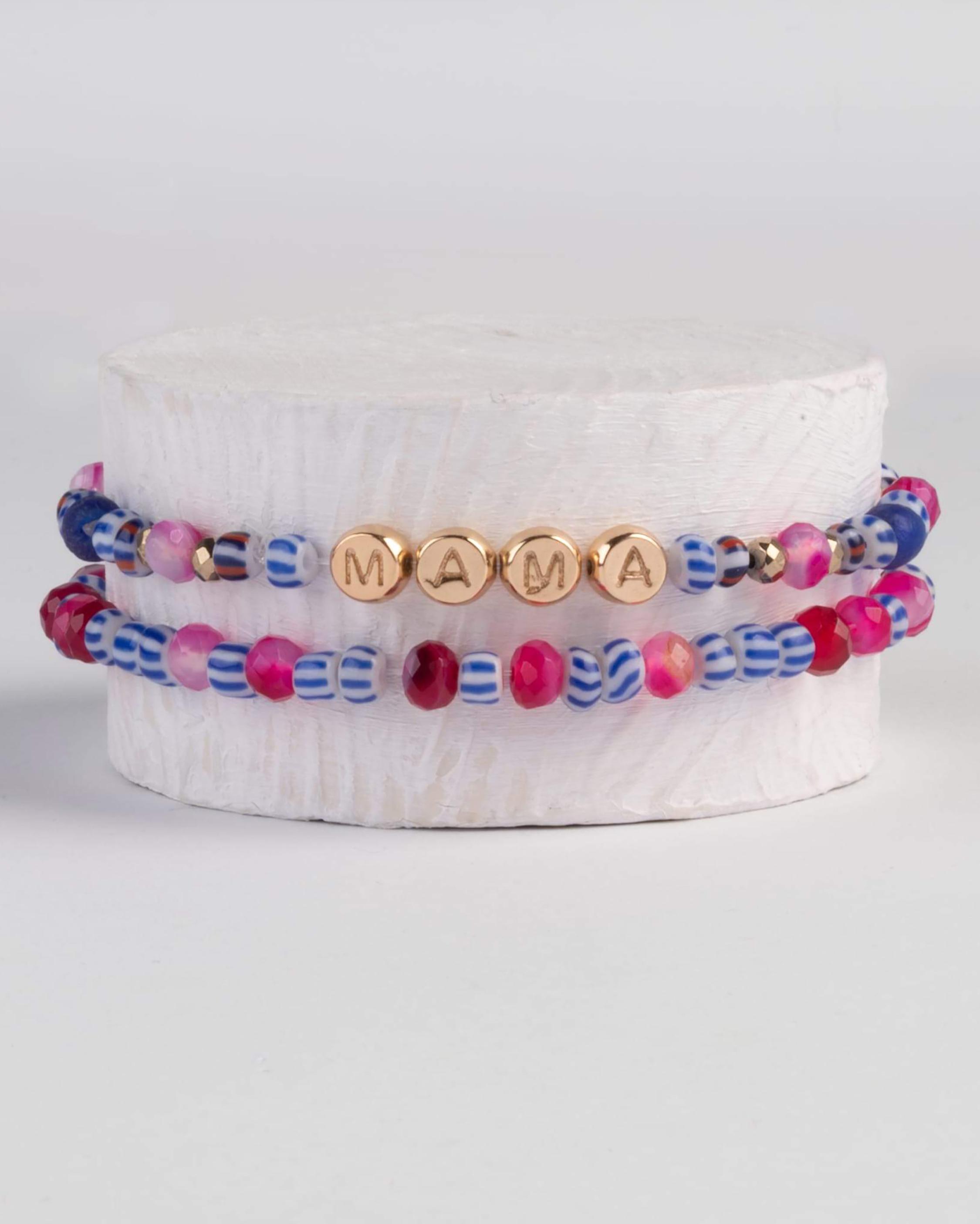 Akola Gemstone Mama Bracelet Set 0
