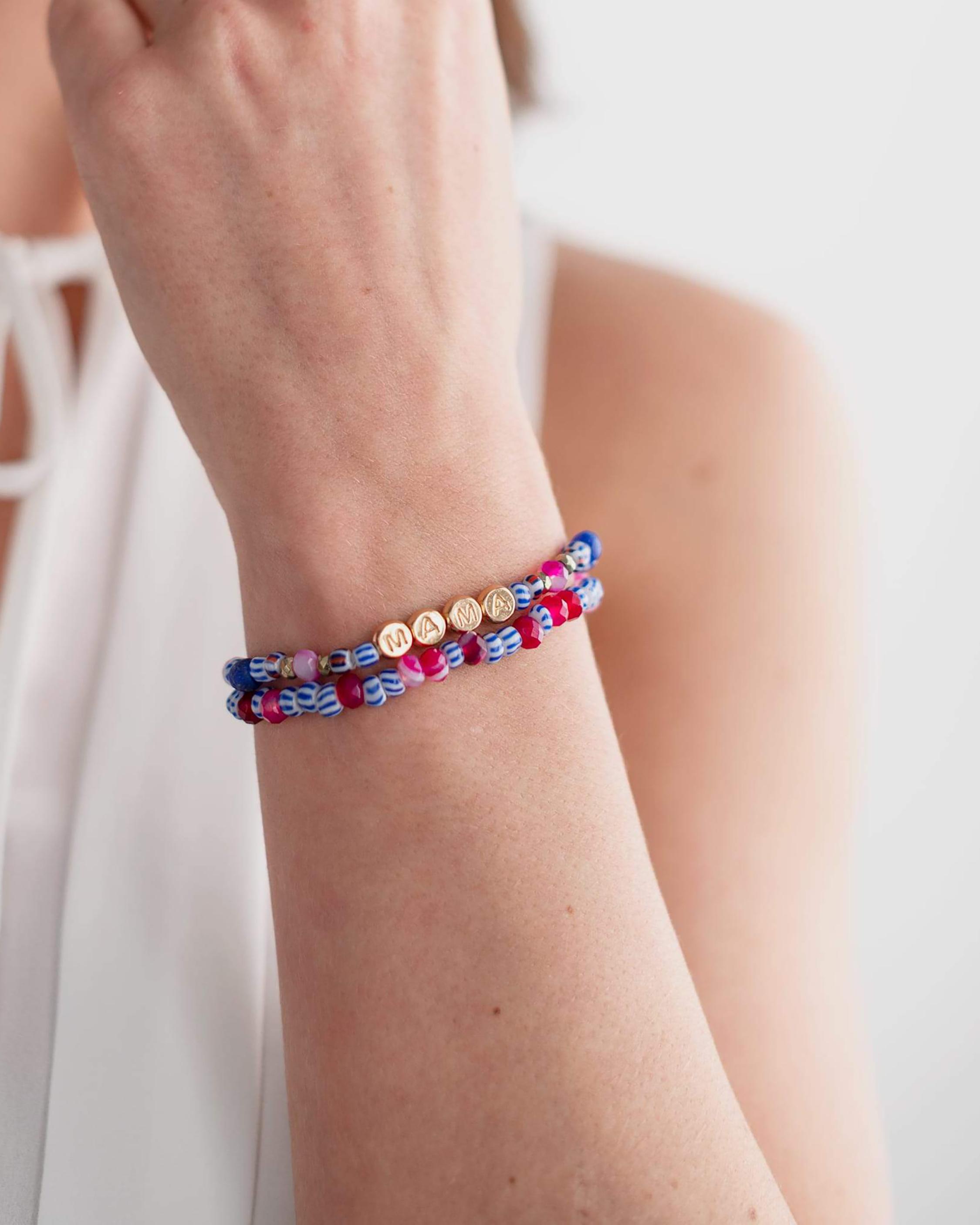 Akola Gemstone Mama Bracelet Set 1