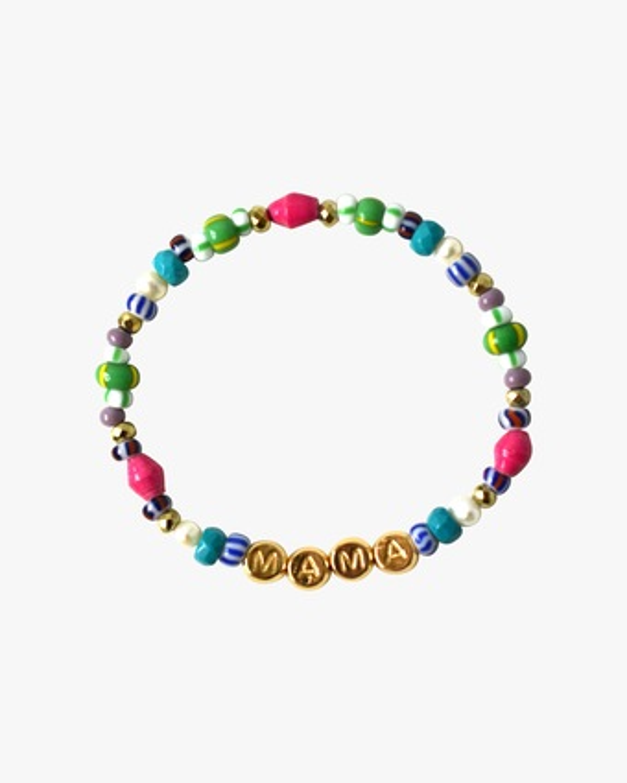 Gemstone Rainbow Mama Bracelet