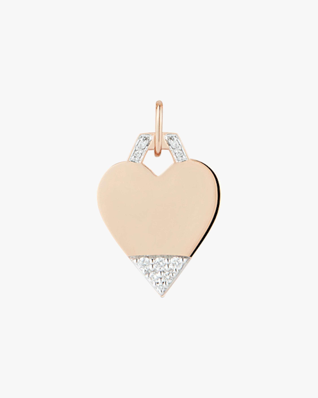 Engraving only-Pavé Mini Heart Charm