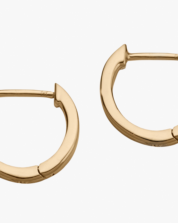 Jennifer Zeuner Grace Huggie Earrings 2