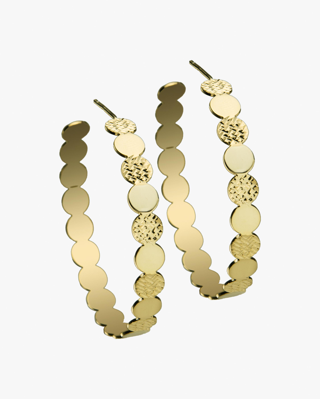Jennifer Zeuner Ines Hoop Earrings 1
