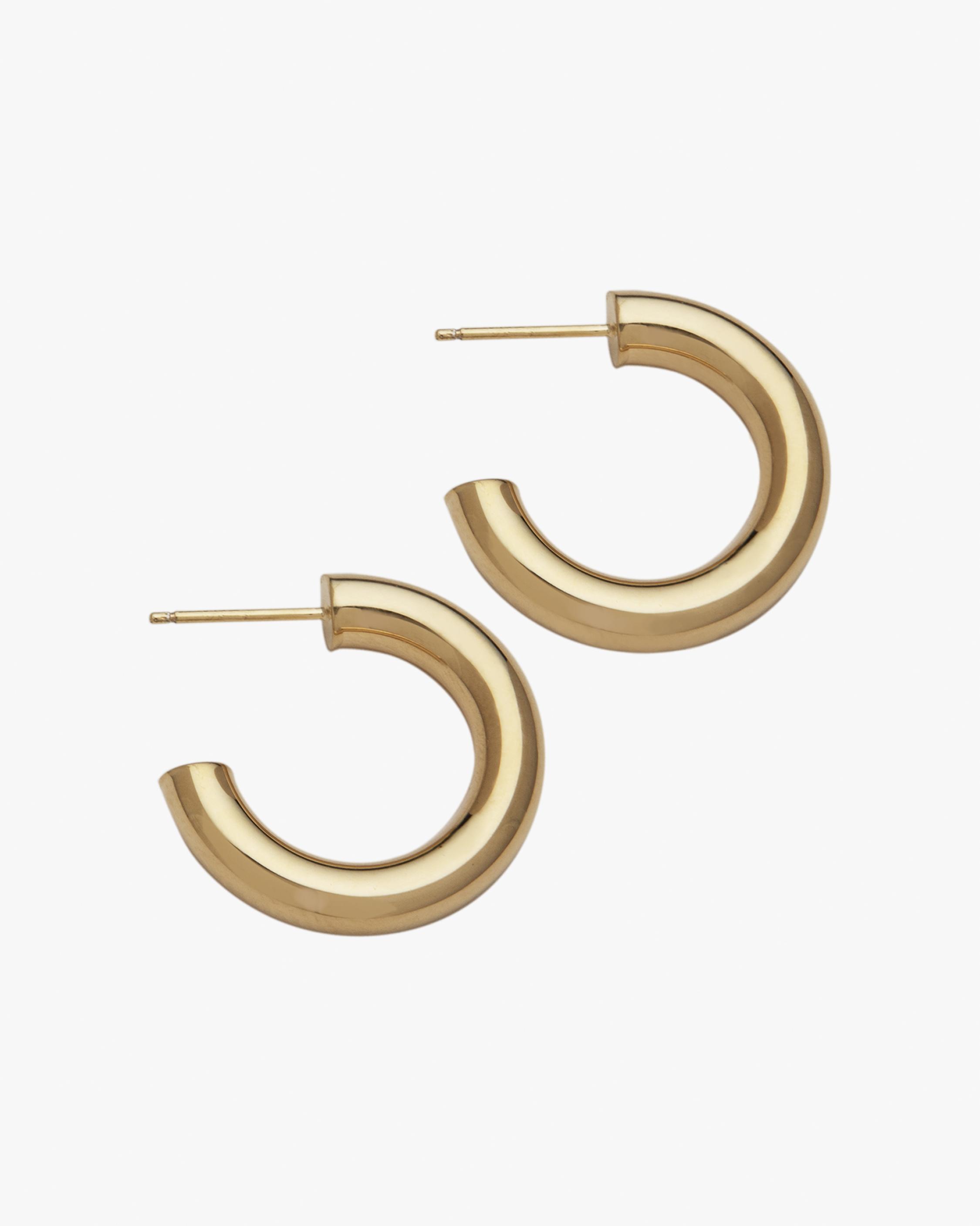 Jennifer Zeuner Lou Hoop Earrings 1