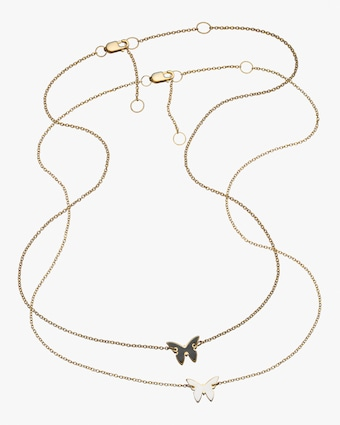 Jennifer Zeuner Mariah Mini Butterfly Necklace 1
