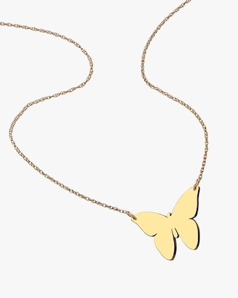 Jennifer Zeuner Mariah Butterfly Necklace 2