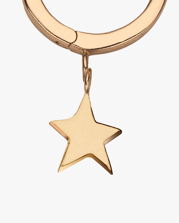 Jennifer Zeuner Mika Star Huggie Earrings 2