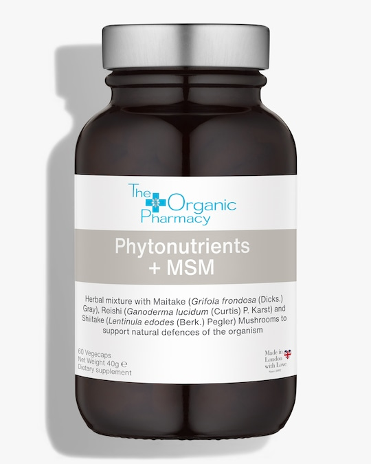 The Organic Pharmacy Phytonutrient + MSM 60 Capsules 0