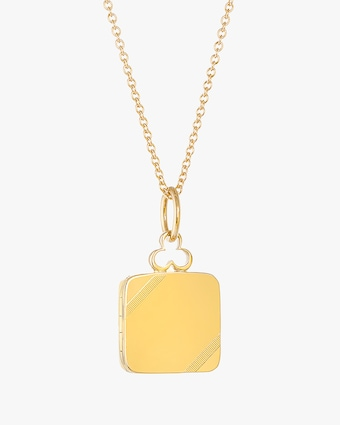 Devon Woodhill Small On an Angle Locket Necklace 1