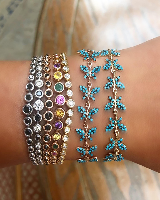 Jane Kaye Butterfly Tassel Bracelet 2
