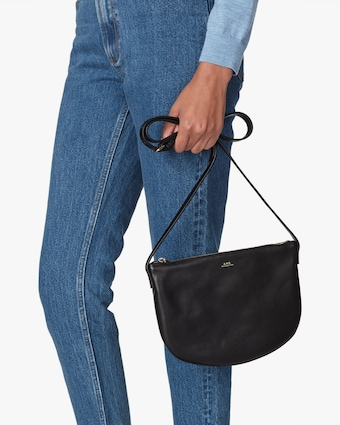 A.P.C. Black Maelys Crossbody Bag 2