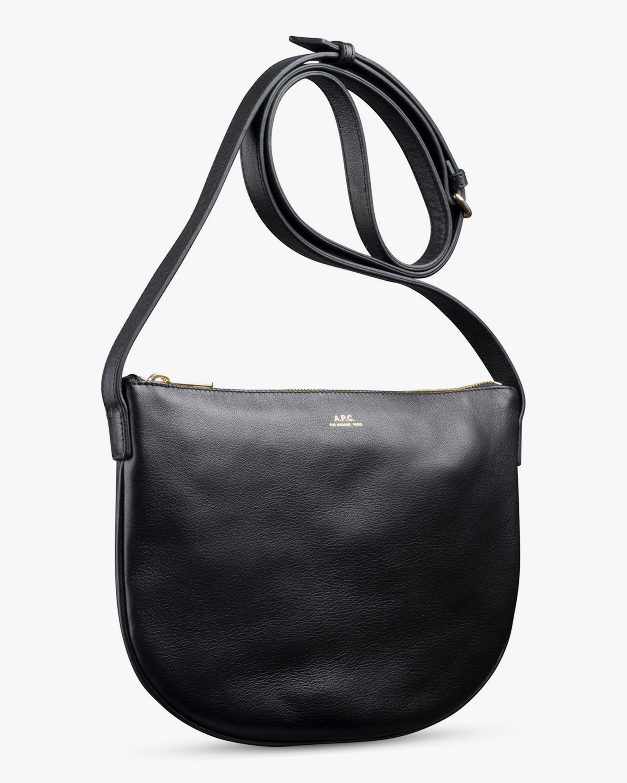 A.P.C. Black Maelys Crossbody Bag 2