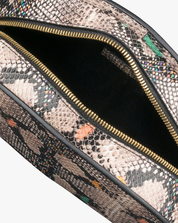 A.P.C. Dem-Lune Python-Embossed Crossbody Bag 3