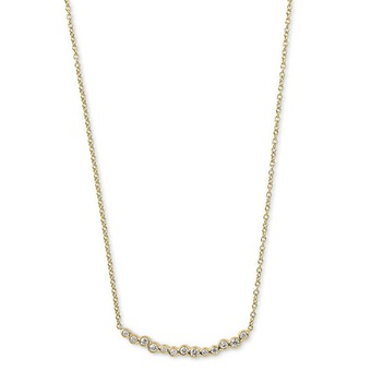 Starlet Smile Bar Necklace