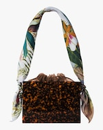 Montunas Tortoiseshell Mini Guaria Handbag 2