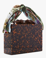 Montunas Tortoiseshell Mini Guaria Handbag 3