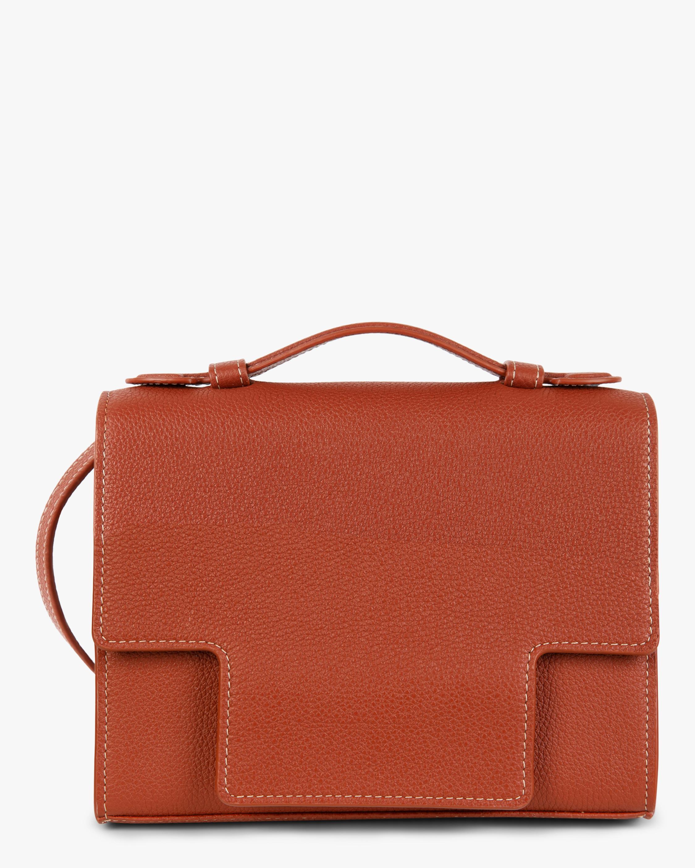 Montunas Scarf-Tie Leather Crossbody Bag 2