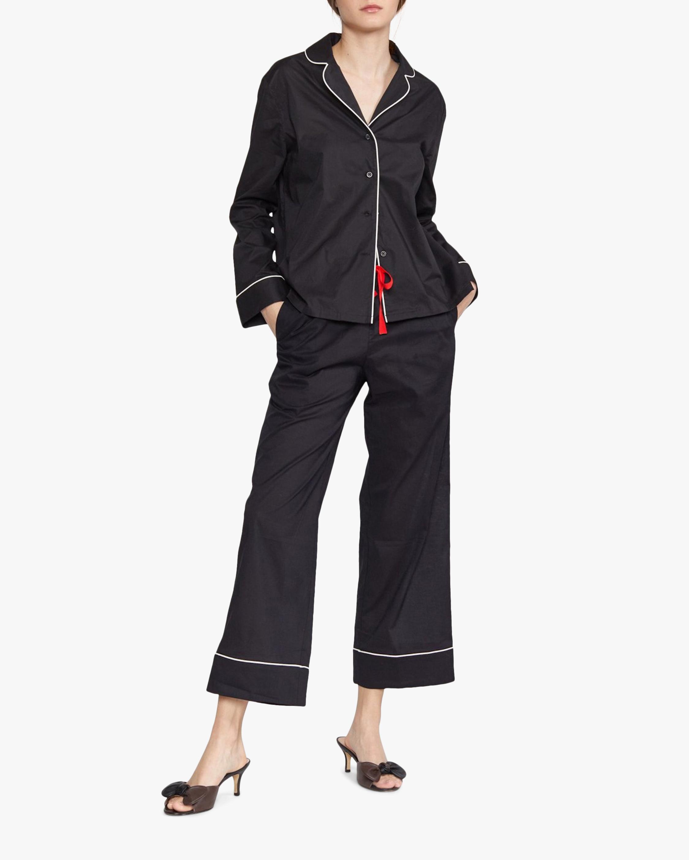 Cynthia Rowley Cotton Pajama Pant 0