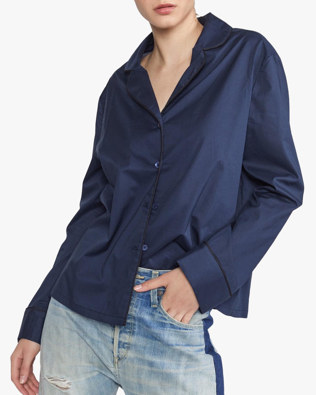 Cynthia Rowley Cotton Pajama Shirt 0