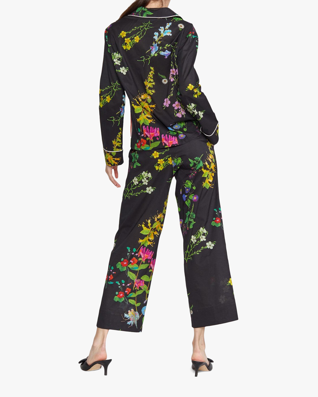Botanical Print Pajama Pants