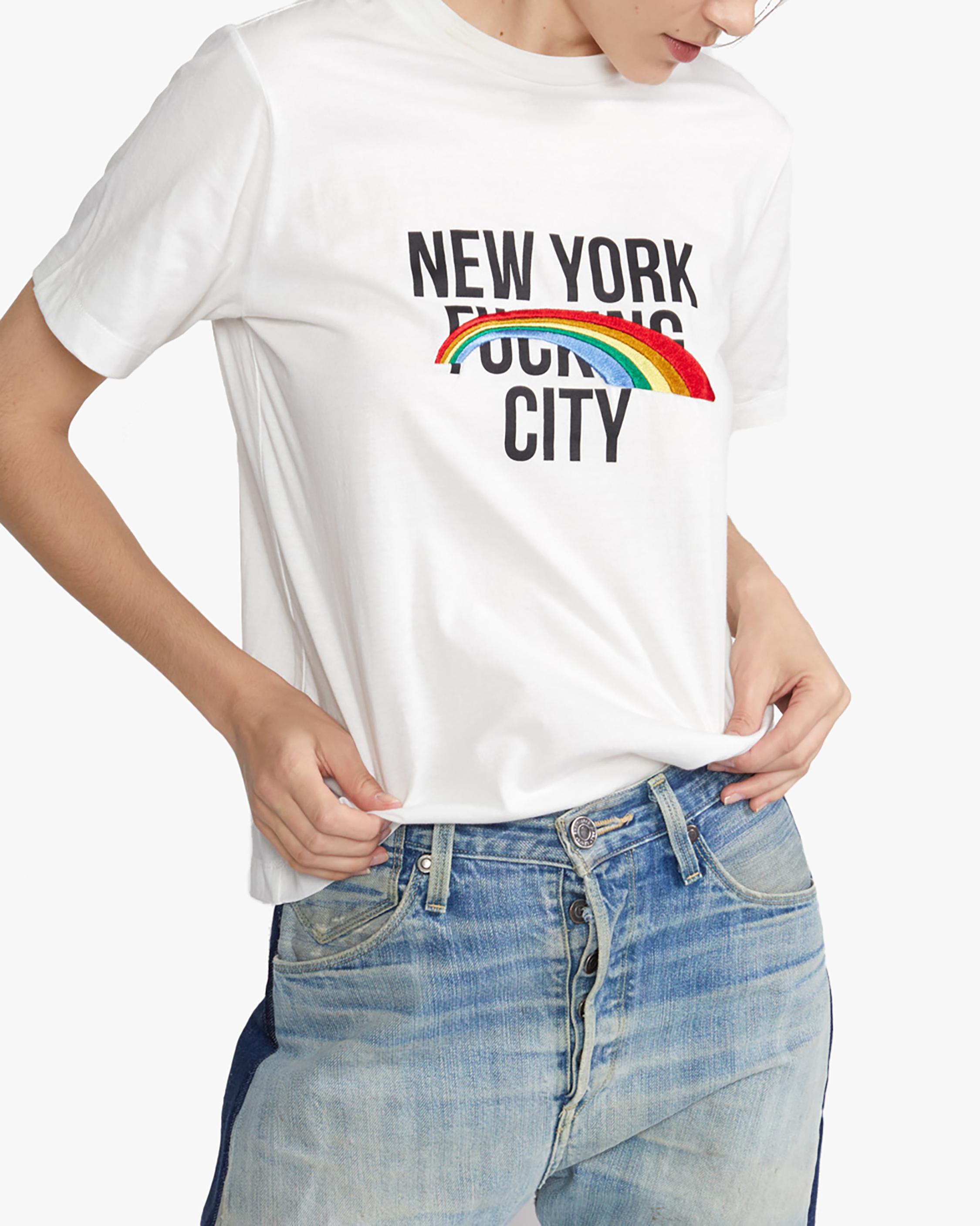 Cynthia Rowley New York Rainbow City Tee 0