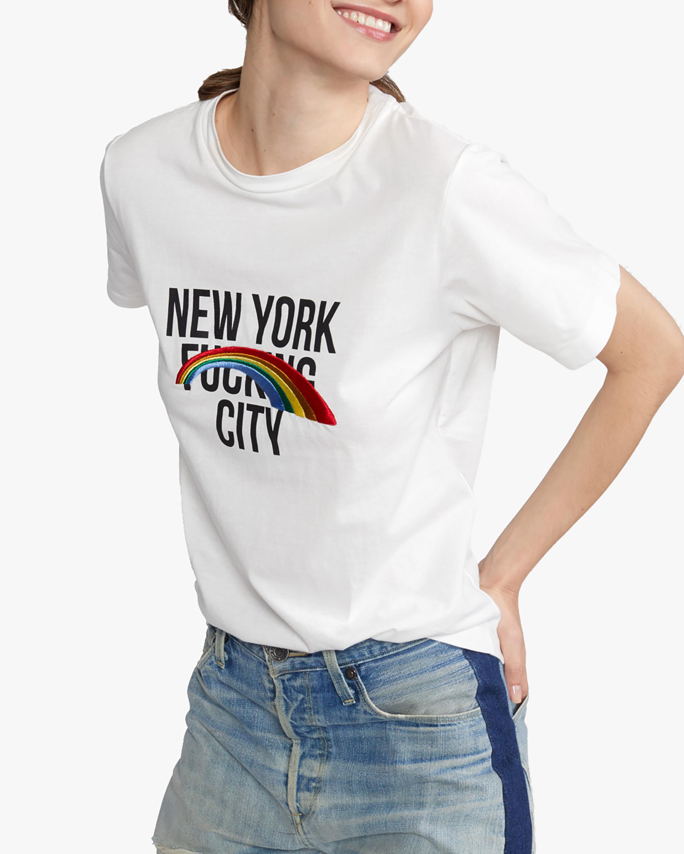 Cynthia Rowley New York Rainbow City Tee 3