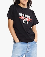 Cynthia Rowley New York Hearts City Tee 0