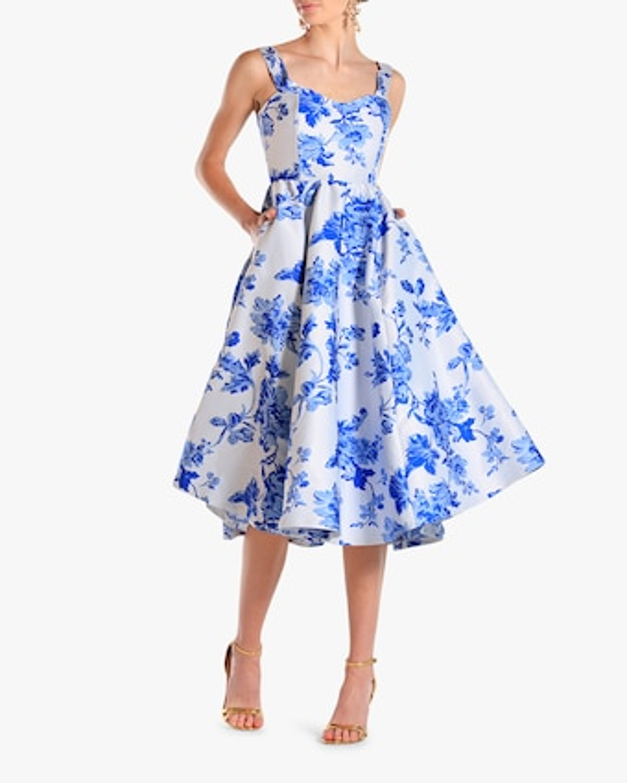 Mestiza Puff Puff Midi Dress 1