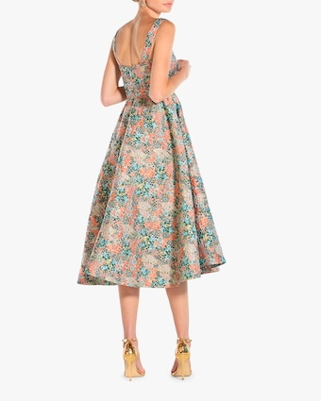 Mestiza Puff Puff Midi Dress 2