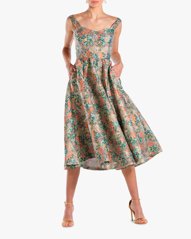 Puff Puff Midi Dress