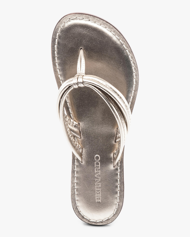 Bernardo Platinum Miami Sandal 2