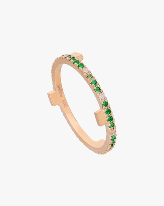 Harika Emerald & Diamond Ring 2