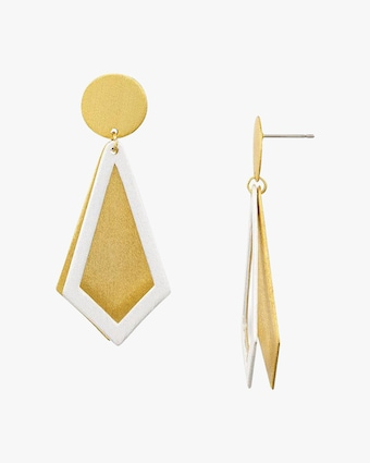 Stephanie Kantis Smooth Ego Drop Earrings 1