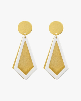 Stephanie Kantis Smooth Ego Drop Earrings 2