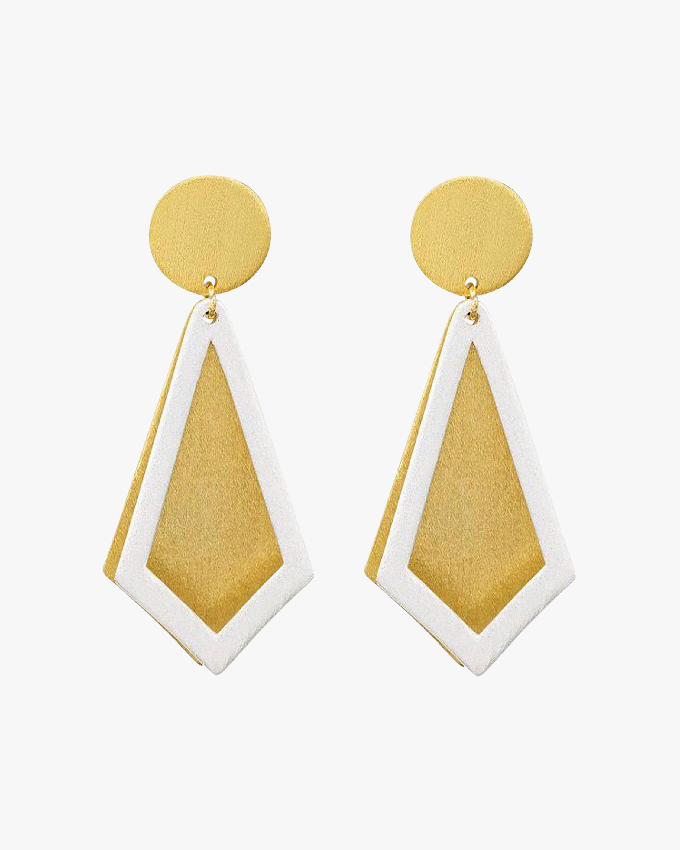 Stephanie Kantis Smooth Ego Drop Earrings 1