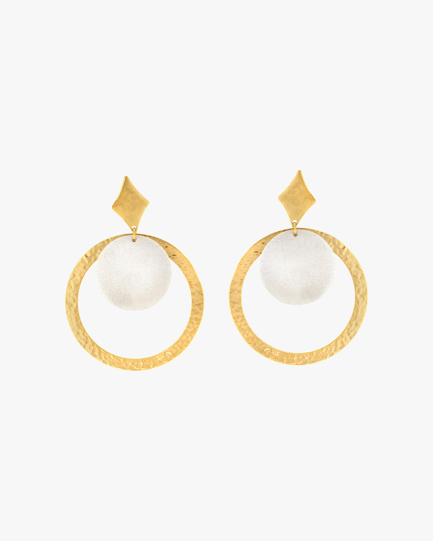 Stephanie Kantis Tri Drop Earrings 1