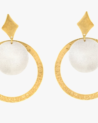 Stephanie Kantis Tri Drop Earrings 2